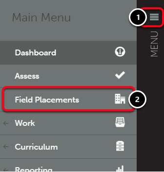 Step 1: Access Field Placements