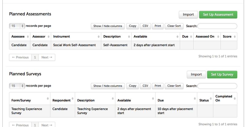 Step 5: Add Assessments and Forms