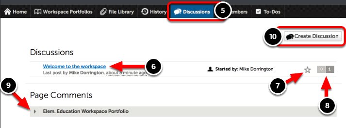 Step 4: Navigate the Discussions Feature
