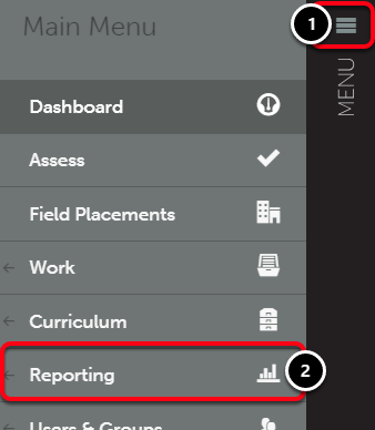 Step 1: Access Assessment Time Report