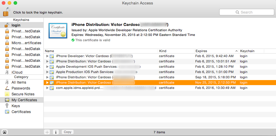iOS - Renewing a Distribution Certificate – Mag+ Designd Support