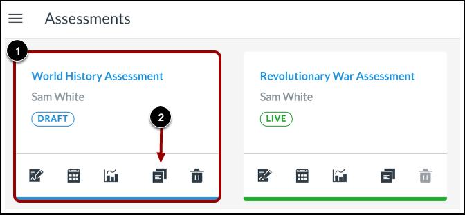 Duplicate Assessment