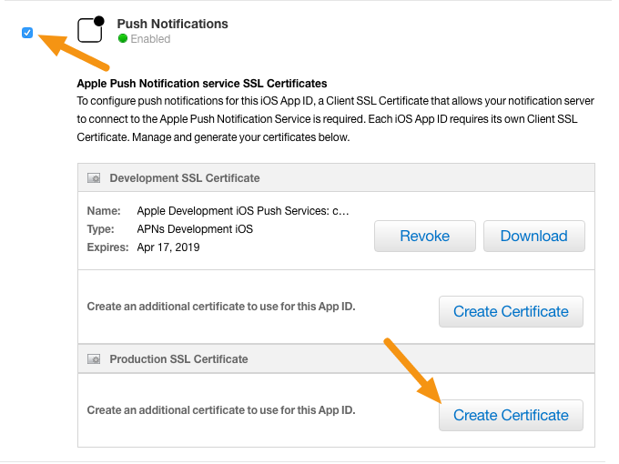Ios Creating A Push Notification Certificate Mag Designd Support