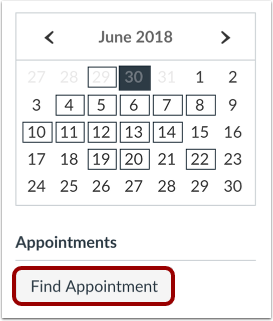 Find Appointments