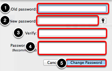 Select New Password