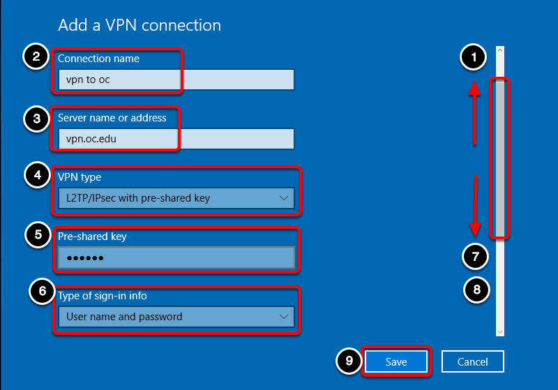 VPN - Setup Connection on Windows 10 – Oklahoma Christian