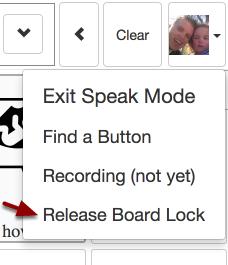 Release Board Lock