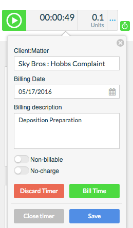 e.  Fill in billing information as needed.