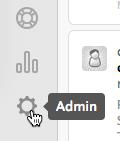 Click Admin Sprocket.