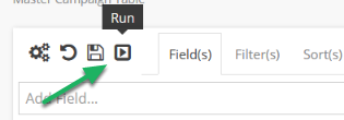 Load your view that contains your Mashup field.