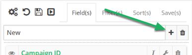 Select Mashup Field