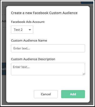 Facebook Custom Audiences integration – ActiveCampaign Help