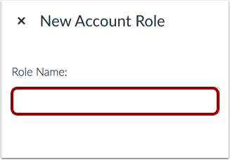 Add Role Name
