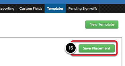 Step 4: Save the Template