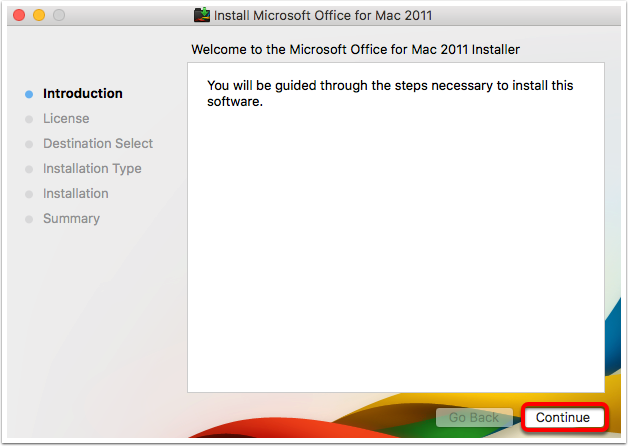 Microsoft Office 2011 - Install on Mac – Oklahoma Christian