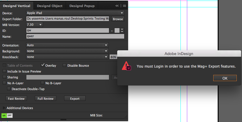 Login added to mag+ Designd Plugin and Reviewer App – Mag+