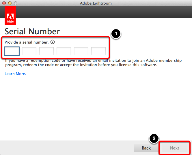 adobe lightroom 6 mac key