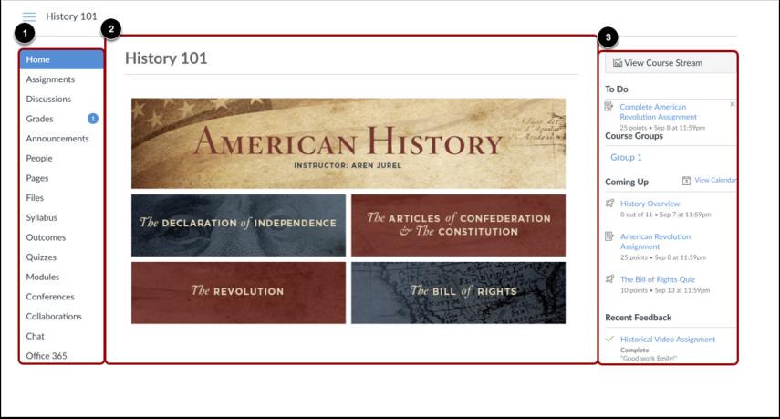 Ver página de inicio del curso