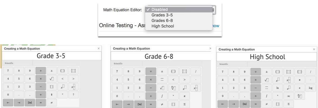 Math Equation Editor (MEE) Abstract – Illuminate Education