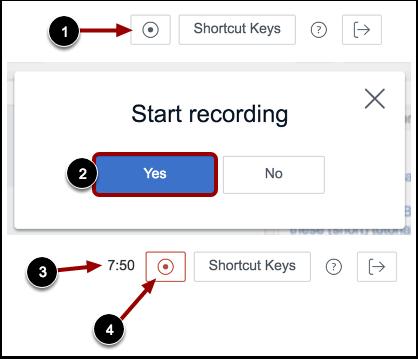 Start/Stop Recording