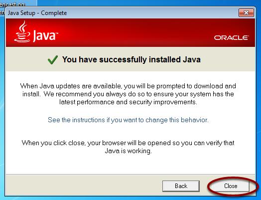 Java Setup - Complete