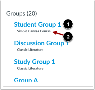View Group Details
