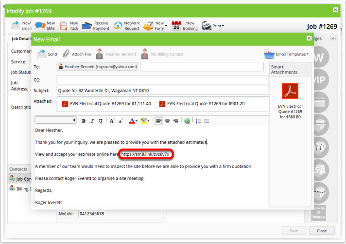 How Quote Versions & Quote Options Work – ServiceM8 Help