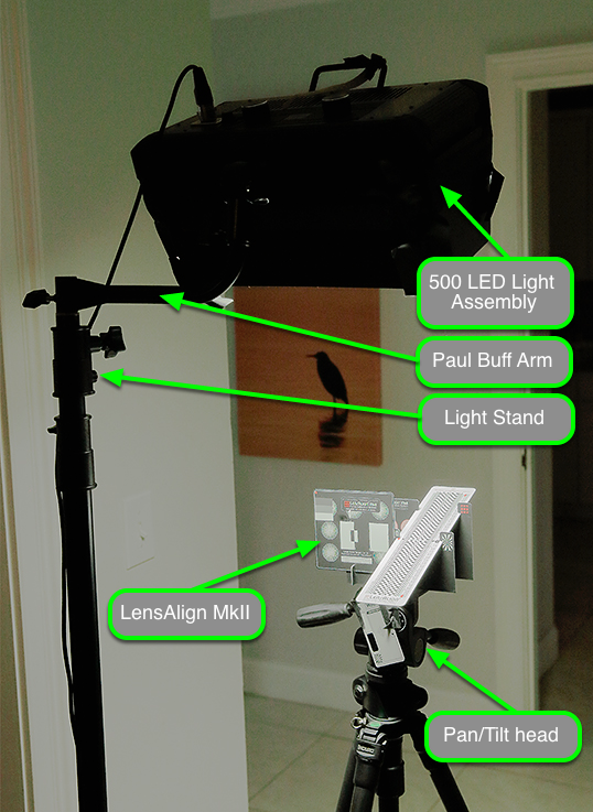 Portable Lighting Setup Example