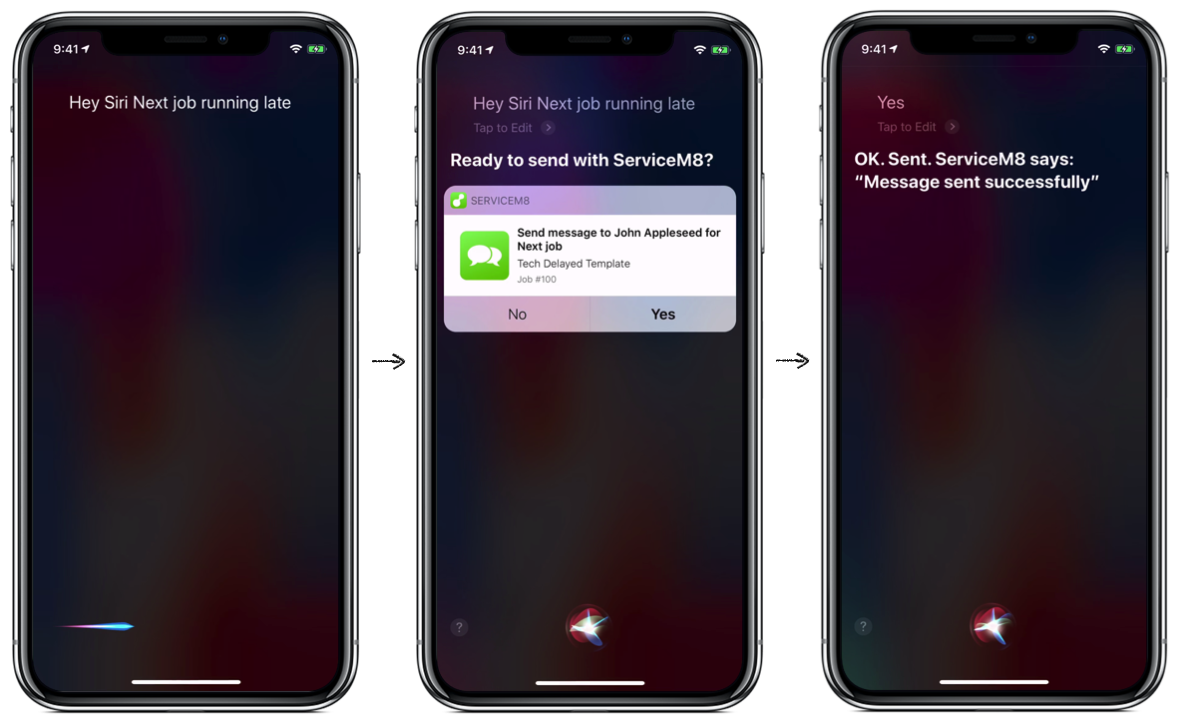 How to use ServiceM8 with Siri Shortcuts – ServiceM8 Help