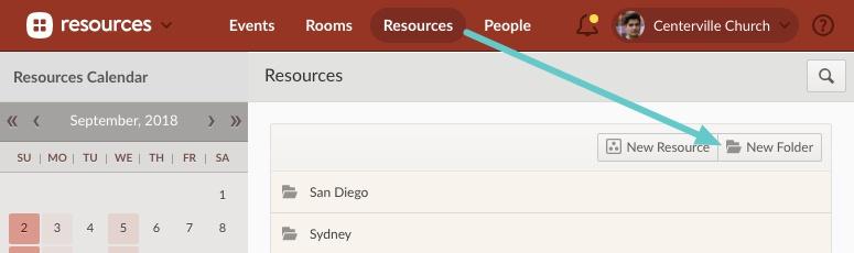folder for resources