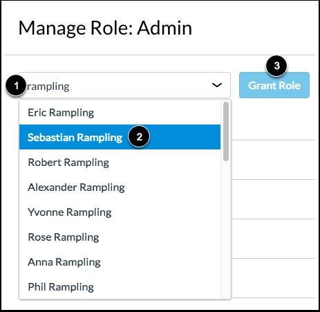 Grant Admin Role