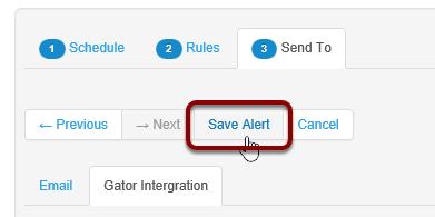 Save Alert