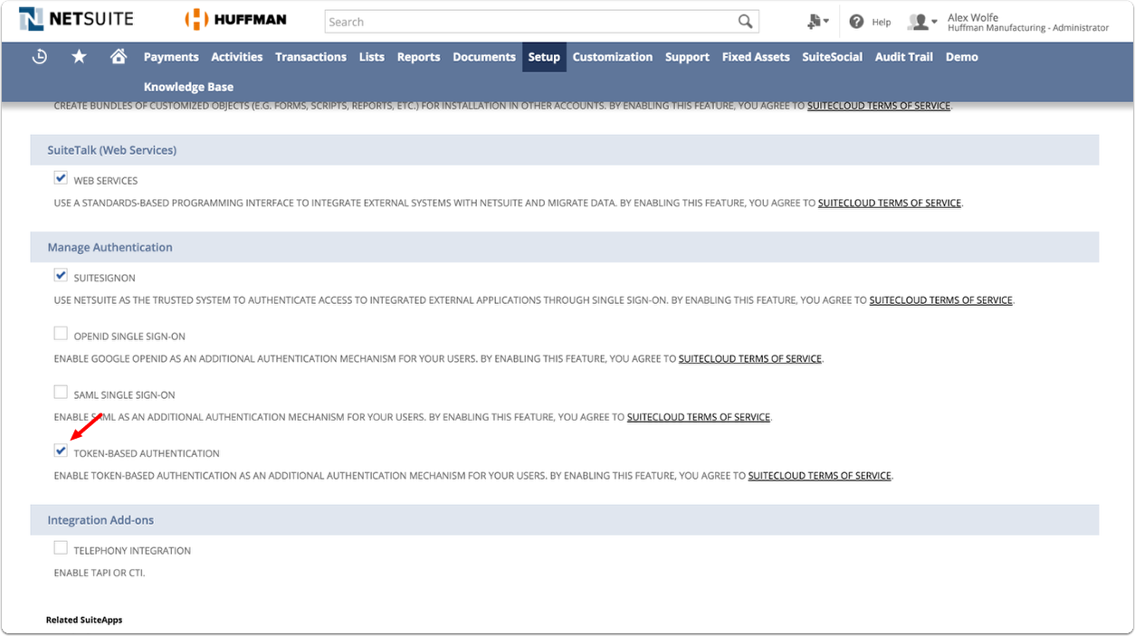 Setting up a NetSuite Integration – DemandCaster Support