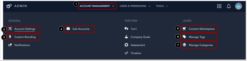 View Account Management
