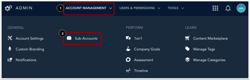 Open Sub Accounts