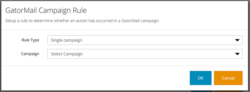 Condition Rule Types - GatorMail Campaign