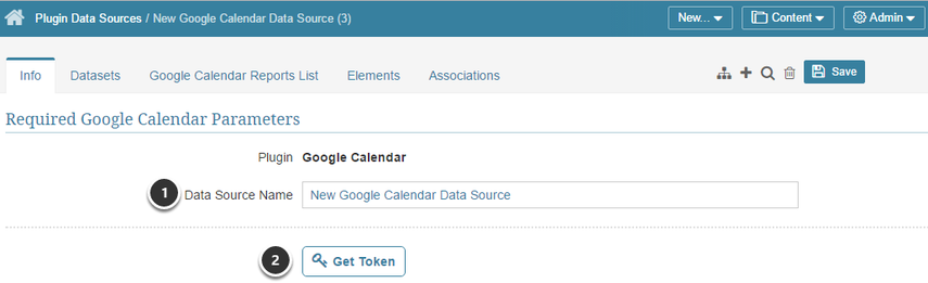Provide the Required Google Calendar Parameters