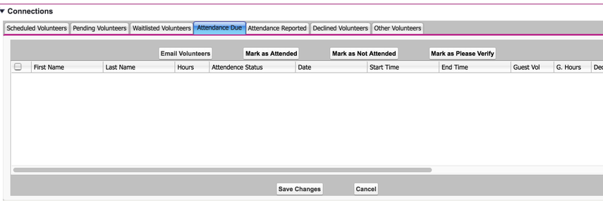 Make sure your attendance due tab is empty and you'll know all attendance for that occurrence has been recorded.