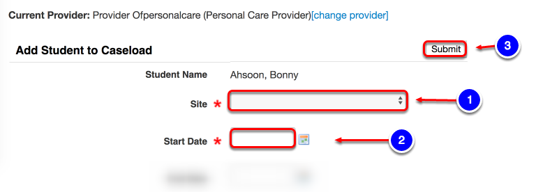 Adding Service Information