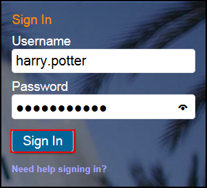 CSUF login screen