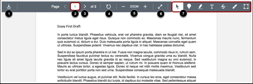 View DocViewer Toolbar