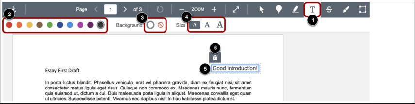 Add Text Tool