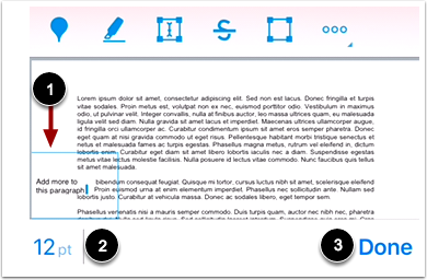Add Text in Annotation