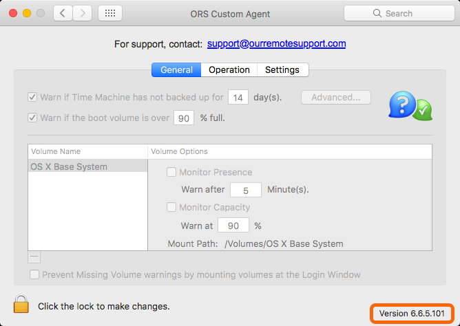 Mac Monitoring Client Preference Pane Agent Version