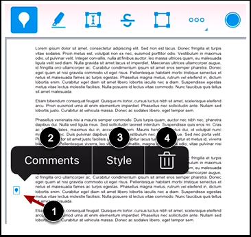 Modify Point Annotation