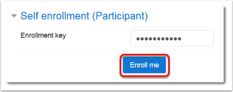 Enroll me button is selected (1)