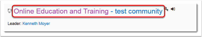 Online Education and Training title is selected.