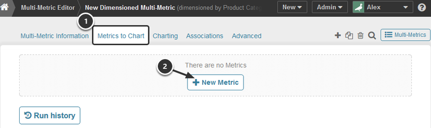 Add a Metric to the Chart
