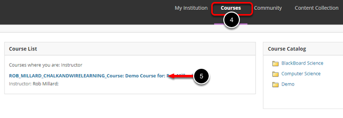 Step 2: Access the Course