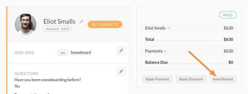 issue refund